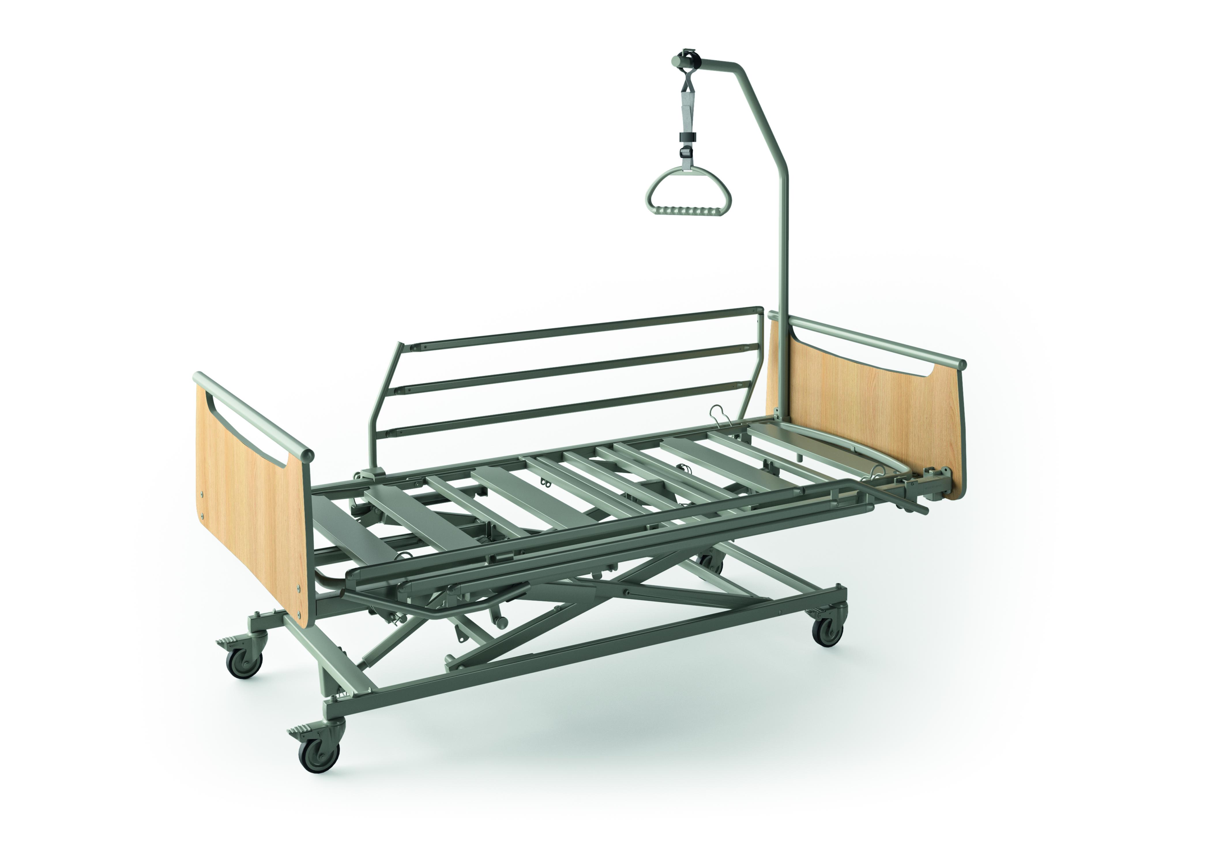 Utiliser les barrières des lits médicalisés